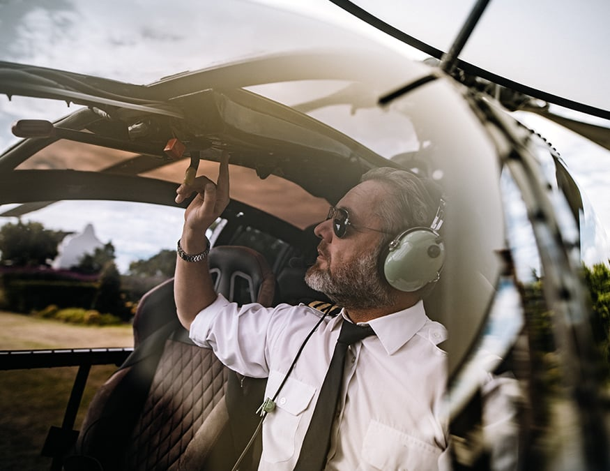 FAA Background Check & Screening - Helicopter Pilot